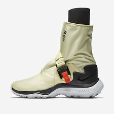 Women's NIKE LAB NSW Gaiter Boot Shoes Size 11 Pale Citron Black AA0528 700 $250
