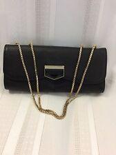 Chloe Black Leather Baguette Handbag