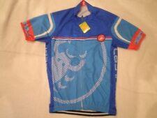 Castelli Cycling Jerseys with Full Zipper
