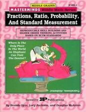 Masterminds Fractions, Ratio, Probability, and Standard Measurement :...