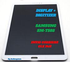 "DISPLAY LCD+TOUCH SCREEN SAMSUNG GALAXY TAB A 10,1"" SM-T585 WIFI 4G BIANCO VETRO"
