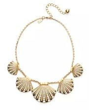 Kate Spade Shore Thing Shell Clam Collar Gold Necklace Women 0484