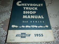 Chevrolet Truck Shop Manual 2nd Series, Chevrolet 1955