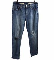 Anthropologie Pilcro and The Letter Press Slim Boyfriend Jeans Size 27