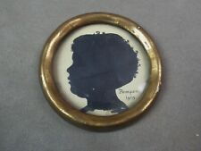 Miniature signée POMPON. 1919. Profil.