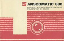 Ansco Anscomatic 680 Slide Projector Instruction Manual
