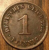 1915 GERMAN 1 PFENNIG