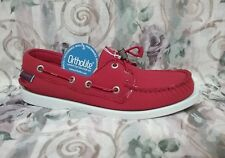 SEBAGO - B500217 - DOCKSIDES ARIAPRENE - Women's Deck Shoes - Red - Size 8.5