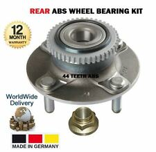 FOR HYUNDAI COUPE 1.6 2.0 F2 EVO 1998-2002 NEW REAR ABS WHEEL BEARING + NUT KIT