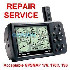 Repair Service for Garmin GPSmap 196 176 176C Color Chartplotter GPS Fix