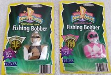 Vintage Zebco 1995 Mighty Morphin Power Rangers Fishing Bobber LOT OF 2