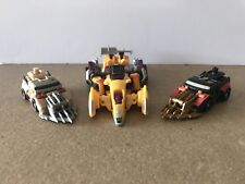 Transformers Power Core Combiners Over Run Armored Junker Drone Stunticons