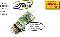V410 4-Kanal Micro Full Range Empfänger +800m DSM2 Spektrum AIR G173