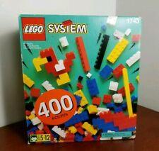 LEGO SYSTEM Freestyle Building Block Set 400pc Vintage Set #1743 SEALED NEW