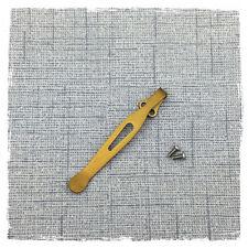 Titanium Deep Carry Pocket Clip For Zero Tolerance ZT0300 0350 Kershaw Skyline