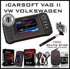 VOLKSWAGEN VW DIAGNOSTIC SCANNER READ ERASE TOOL SRS ABS iCarsoft VAG II i908