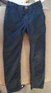 Hugo Boss Boys Blue Trousers -  Age 6 - Adjustable Waist