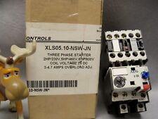 XLS05.10-NSW-JN EE Controls Three Phase Starter 24vdc coil