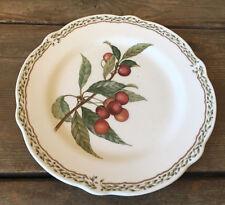 """Noritake Royal Orchard Fruit 1 Salad Plate Vines 9416 N ROO Cherries Cherry 8.5"""""""
