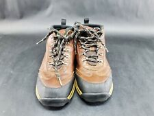 Timberland Backroads Brown Leather Hiking Boots Sz 4 (no inserts)