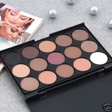 Hot Pro 15 Colors Warm Nude Matte Shimmer Eyeshadow Palette Makeup Cosmetic