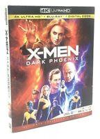 X-Men: Dark Phoenix [2019] 4K Ultra HD+Blu-ray+Digital Code & Slipcover