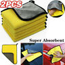 850GSM Extremely Thick Plush Microfiber Towel Cleaning Cloth Polishing Detailing
