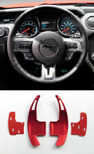 Pinalloy Rot Alloy Schaltwippen Schaltpaddel Paddle Shifter Fur Neu Ford Mustang