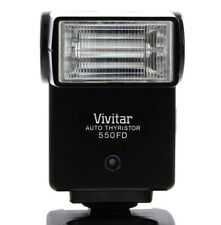 Excellent+ Tested Vivitar Electronic Flash Auto Thyristor 550FD  w/ Inst., & Box