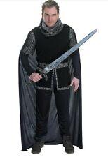 Adult Sheriff of Nottingham Costume Mens Robin Hood Fancy Dress Inc. Sword