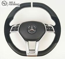 LE TEF® Leder Lenkrad OHNE WIPPEN für Mercedes-Benz AMG W204 W212 X156 R231 R172