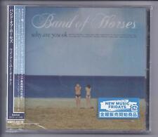 BAND OF HORSES Why Are You Ok  JAPAN cd jewelcase cd + OBI NEW sealed