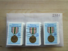 # 2551 x 100 Used US Stamps Lot  Desert Shield / Storm Issue  See our other lots