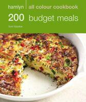 Hamlyn All Colour Cookbook 200 Budget Meals Paperback NEW