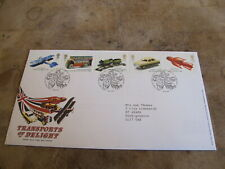 GB Royal Mail First Day Cover - 2003 Transports of Delight - Childrens Tin Toys