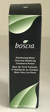 Boscia Porefecting White Charcoal Mattifying Treatment Primer - BRAND NEW IN BOX