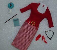 Barbie Repro / Reproduction Student Teacher 2010 Fashion Unboxed Free U.S. Ship