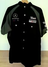 West McLaren Mercedes Formula 1, PIT Crew T-Shirt, very good conditions XL