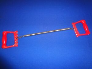 5 Steel Spring Chest Expander w/ 1 Spring Red Handles