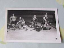 Original CANADA v HARRINGAY Racers 1950's Ice Hockey World ACTION Photo
