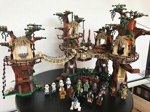 Lion King (Lepin) 180016 Ewok Village - mit Bauanleitung - kompatibel mit Lego