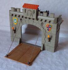 Playmobil Burgtor Zugbrücke für Ritterburg 3666 - TOP!