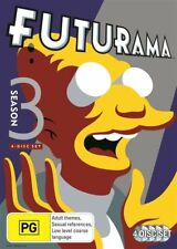 Futurama : Season 3 (DVD, 2013, 4-Disc Set)