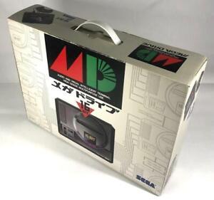 Used Megadrive 1 Console System w/Box Japan MD Genesis Sega