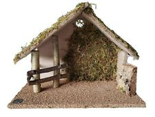 Fontanini by Roman Italy Nativity Stable Creche Barn Only