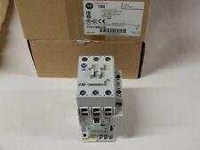 Allen Bradley 100-C30EJ10 Contactor 24VDC Coil 3 NO 1 NO Aux Series C