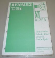 Werkstatthandbuch Elektrik Renault Clio I elektrische Schaltpläne letztes Jahr!