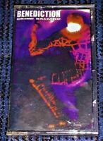 Benediction – Grind Bastard. VG Cassette Tape Plays Well Death Metal