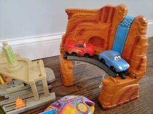 Fisher Price GeoTrax - Disney Pixar Cars Set Radiator Springs Complete + Bonus!