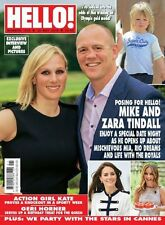 HELLO! Magazine #1432 - MIKE & ZARA TINDALL! GERI HORNER! (NEW BACK ISSUE)